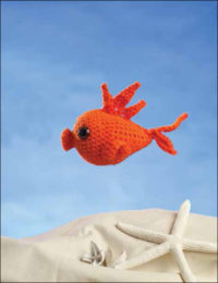 Pucker the Goldfish by MK Lee is a great amigurumi crochet pattern found in our free 11 crochet patterns ebook.
