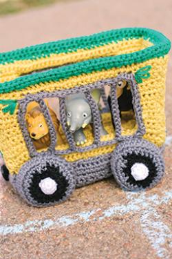 Animal Train Car Crochet Pattern