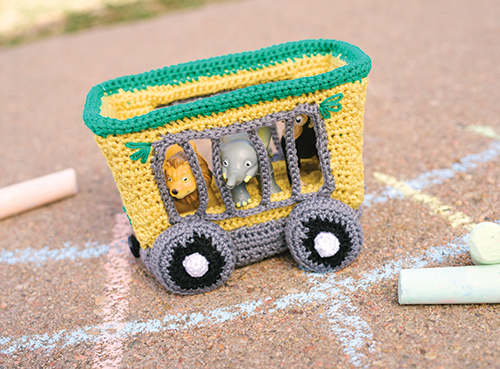 Animal Train Car Crochet Pattern
