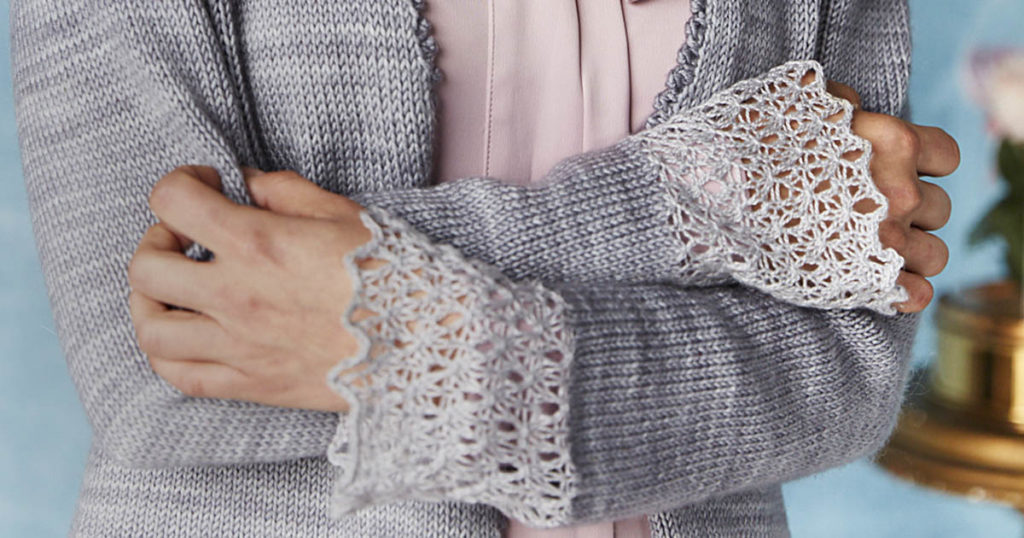 <em>Knitting Traditions</em> 2018: Ann Veronica Cardigan