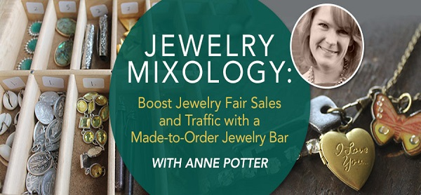 learn to create make and take DIY jewelry bars at craft shows to boost your jewelry business