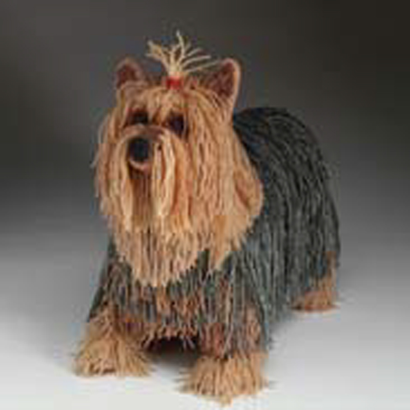 Beadwork IV brings us this beaded yorkie
