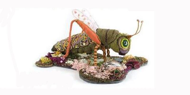 beaded grasshopper