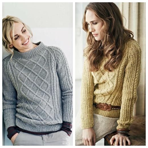 Vera Aran Sweater