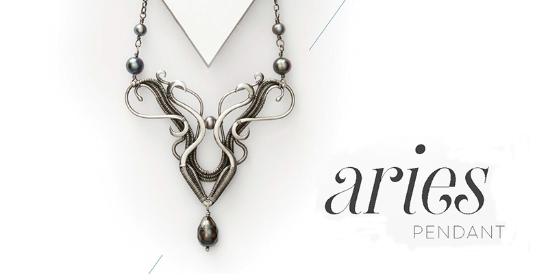 <em>Woven in Wire</em> Jewelry: Aries Pendant