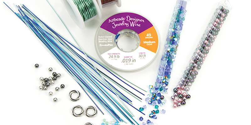 One Beading Kit, Five Projects from a Beadwork Challenge