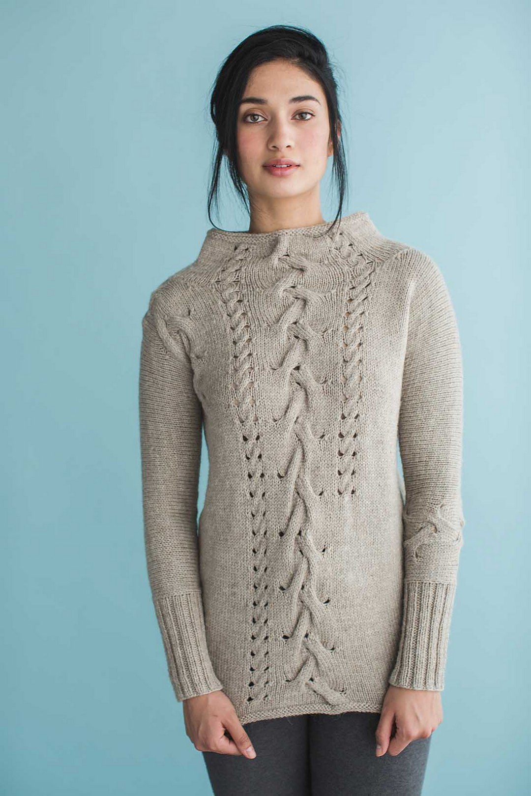 The Aspen Pullover, from Wool Studio Volume 4