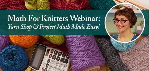 Learn math for knitters with Kate Atherley