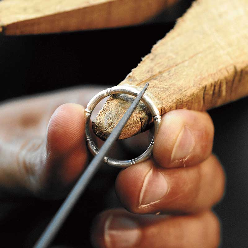 Bamboo Handmade Ring Free project