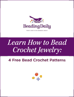 Learn how to bead crochet with this free ebook on bead crochet patterns and more