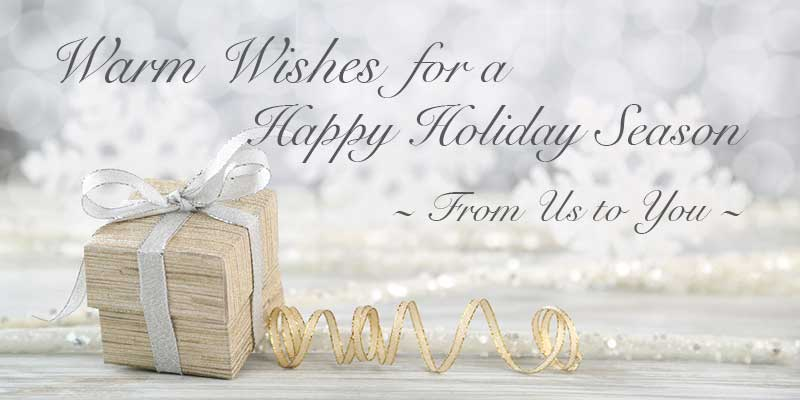 Happy Creative Holiday Wishes to You from All of Us