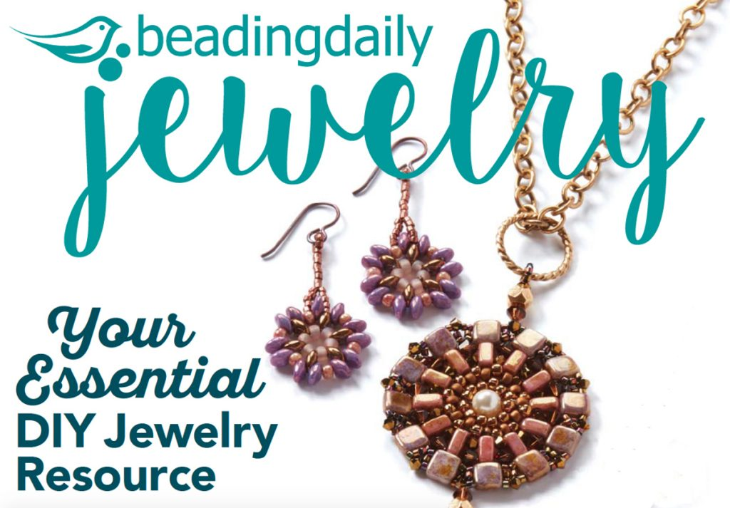 BeadingDaily Jewelry Stringing, 2016. 33 jewelry-making projects spanning 36 jewelry-making techniques