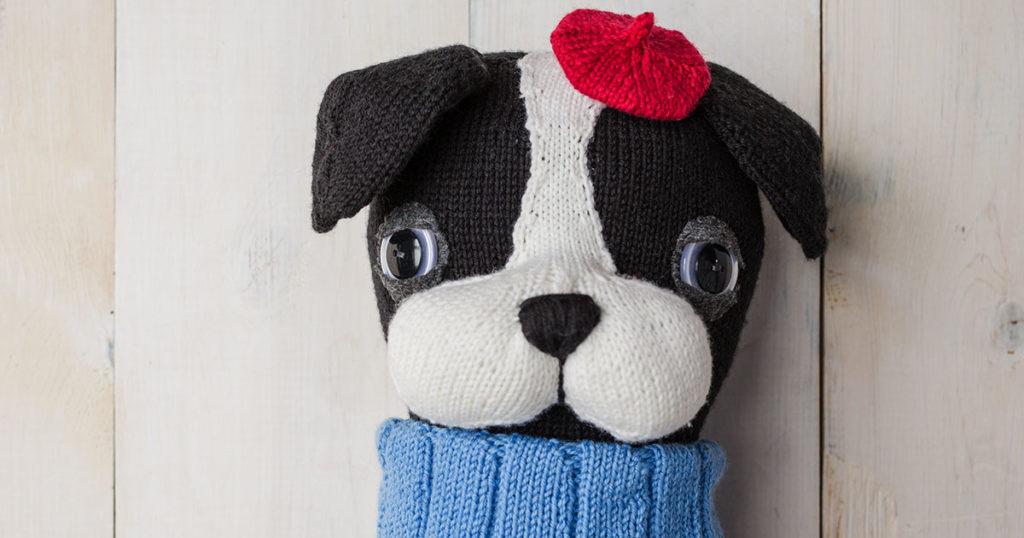 <em>Knits Gifts</em> 2018: Belvedere Bulldog
