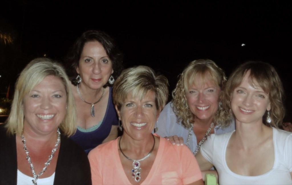Back, l ro r: Sandra Lupo, Jamie North; Front, l to r: June Bead, Tammy Honaman, Melissa Grakowsky Shippee
