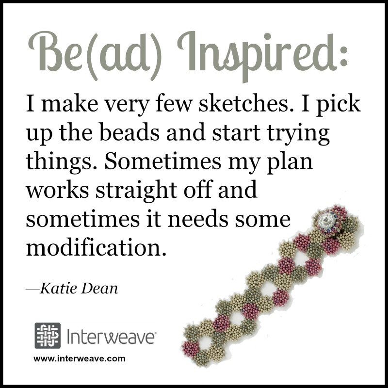 Have you been stuck in a creative rut? Sometimes you just have to start. Bead Artist Katie Dean gives her advice on inspiration.
