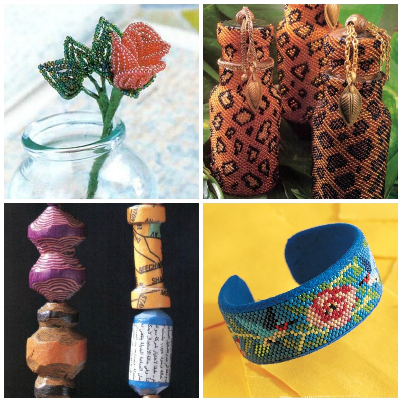 Bead-weaving trends - a few favorites from 1999.