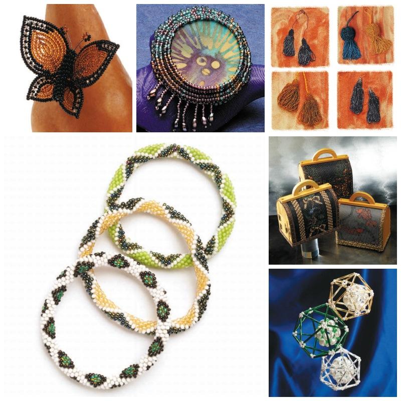 Beadwork magazine bead-weaving favorites from 2001.