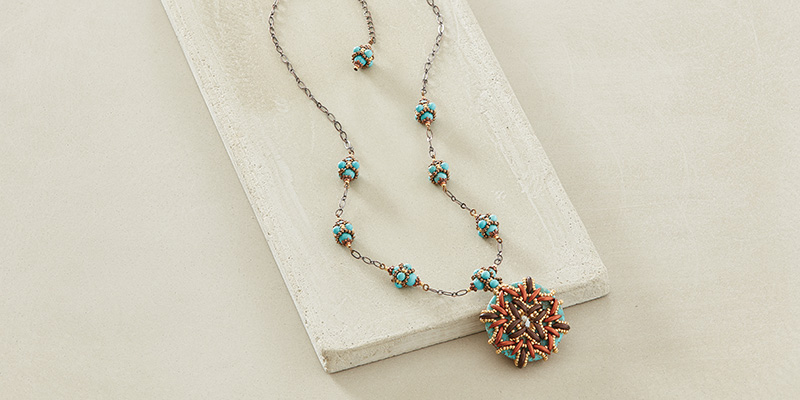 Southwestern Colors and Beaded Beads Are Hot This Season