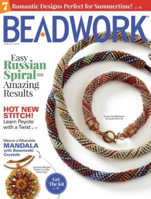 Beadwork Magazine June/July 2018