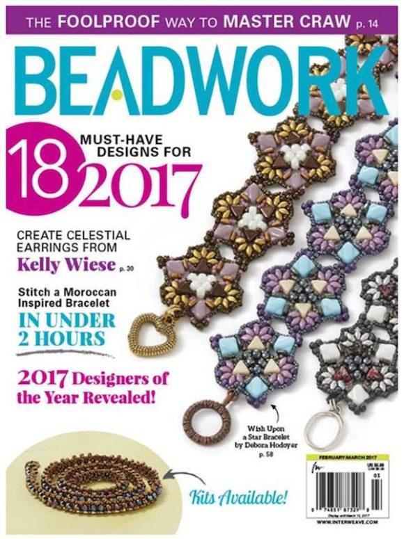 Beadwork magazine Feb/Mar 2017