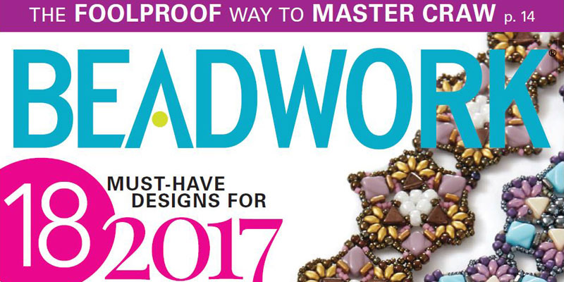 Beadwork magazine submission guidelines - join us today! Check out Beadwork Feb/Mar 2017 issue.