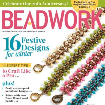 Beadwork Magazine Dec/Jan 2017