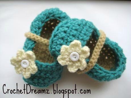 Crochet Pattern Ballet Flats Interweave