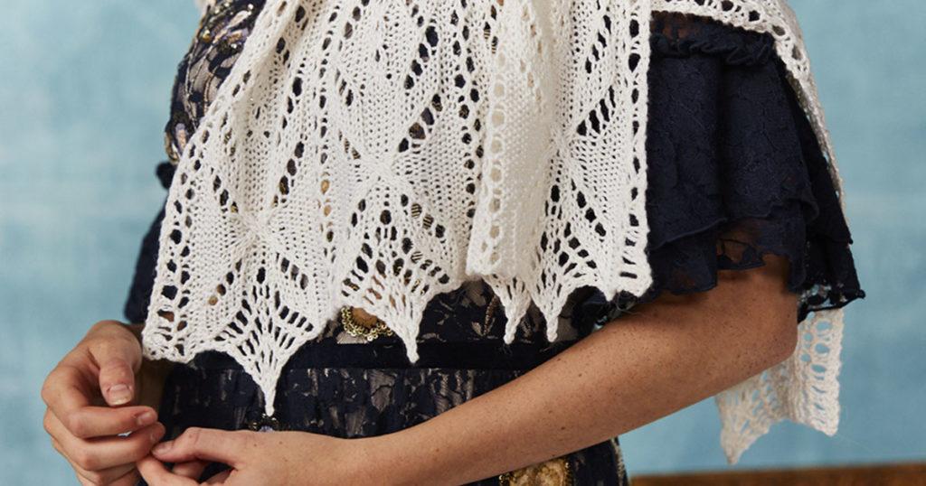 <em>Knitting Traditions</em> 2018: Ballets Russes Wrap