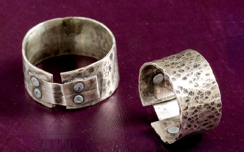Band It! ring by Cassie Donlen - metal jewelry from Wire + Metall by Denise Peck and Jane Dickerson
