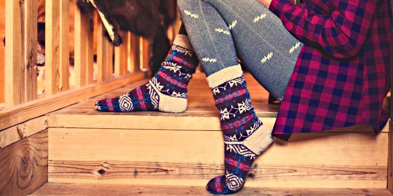 Socktoberfest: 5 Ways to Work a Sock Toe