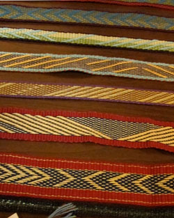 handwoven inkle bands