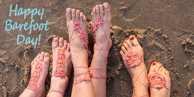 Happy Barefoot Day!