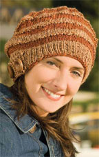 Easy Free Knitting Patterns: Women's Knitted Hat Pattern