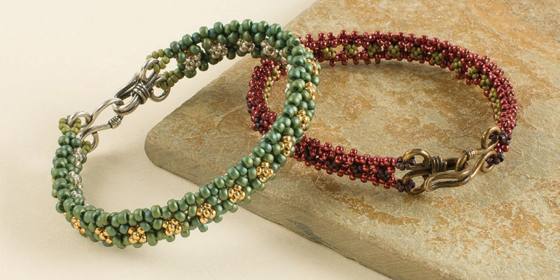 8 Beading Projects to Love -- Without Shaped Beads! This & That by Melinda Barta