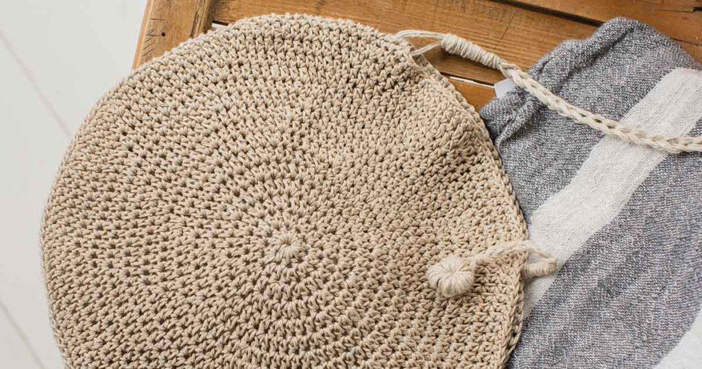 <em>Interweave Crochet</em> Summer 2018: Basking Crossbody Bag