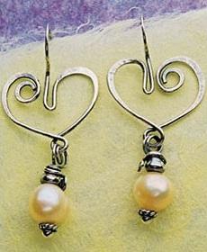 Be Steel My Heart earrings by Sharilyn Miller