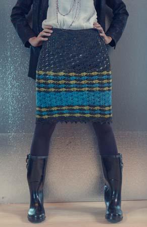 Shell Stitch Beachcomber Crochet Skirt