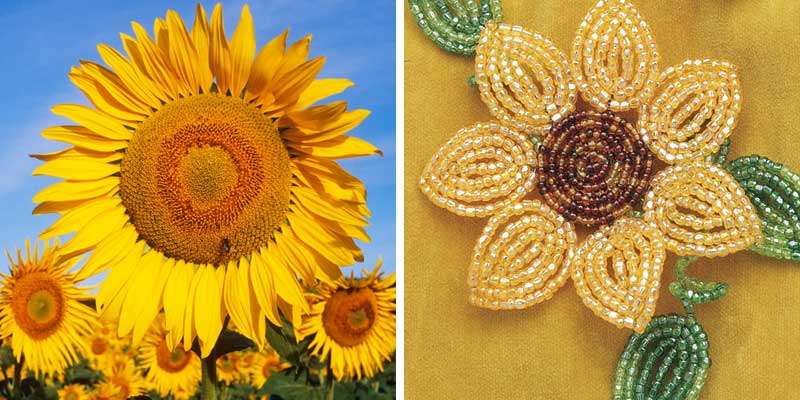 How To Make Beautiful Beaded Flowers with Wire