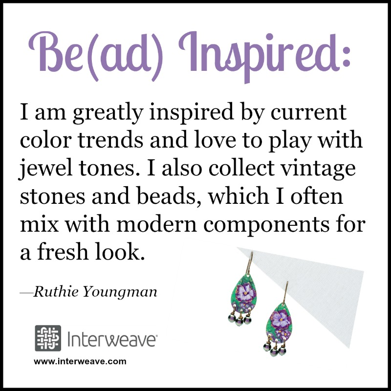 Color can be a wonderful inspiration. Check out how Ruthie Youngman finds her inspiration.