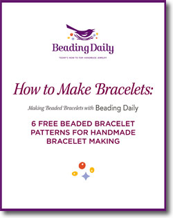 Learn how to make beaded bracelets the right way with these 6 FREE bracelet-making projects.