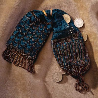 A Beaded Miser's Purse to Crochet