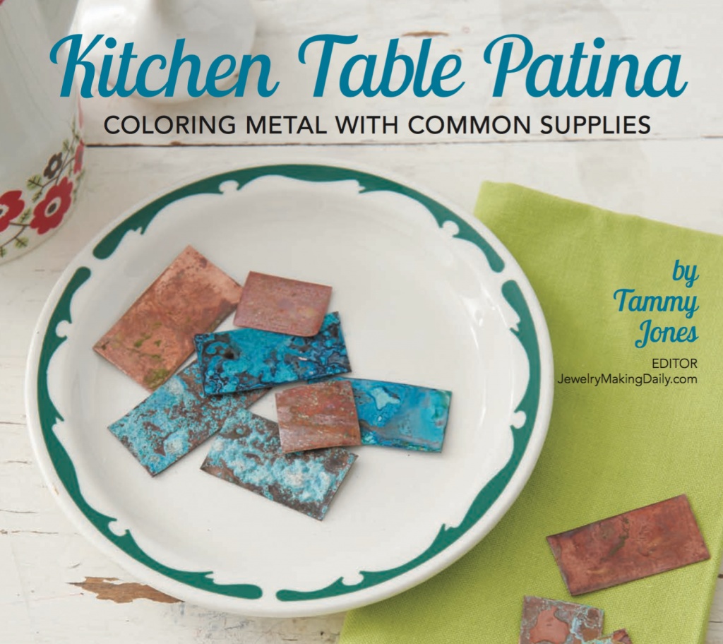 Jewelry Stringing Summer 2016, Kitchen Table Patina by Tammy Jones of Jewelry Making Daily