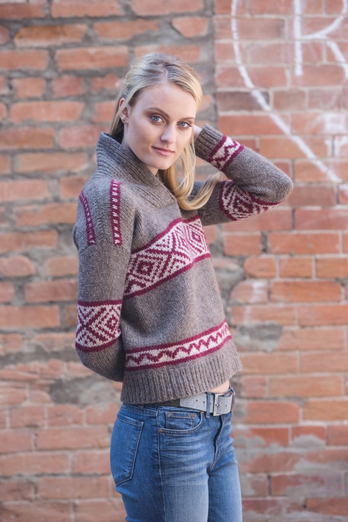 Amanda Bell Hawkherst Sweater knit sweater pattern