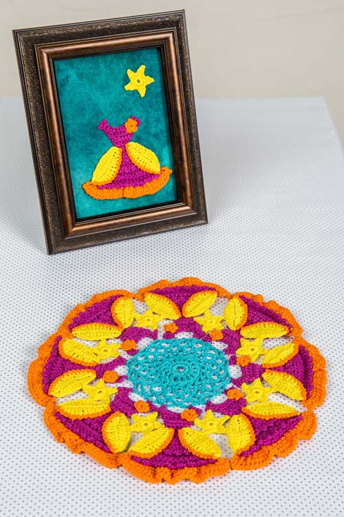 Belle Doily and Dress Crochet Pattern