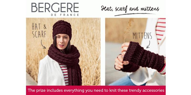 Win a Mitten Kit from Bergère de France
