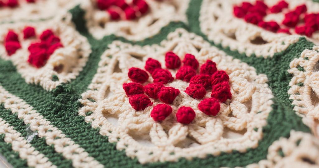 Color Combos for the Berry and Pine Crochet Afghan Pattern