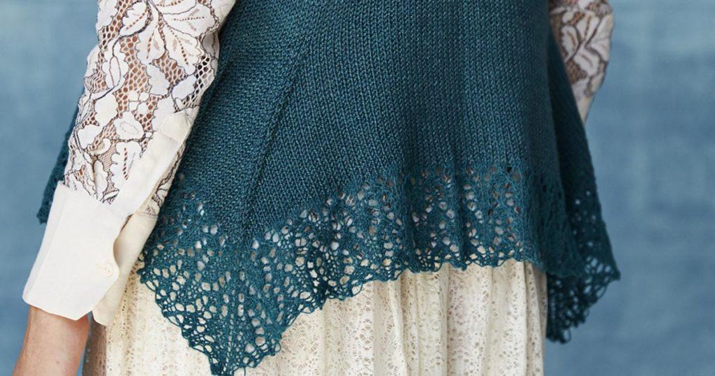 <em>Knitting Traditions</em> 2018: Bias Lines Top