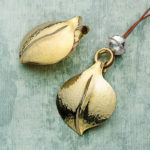 Double-Duty Jewelry Design: Leaves and Beads Pendants by Bill Fretz