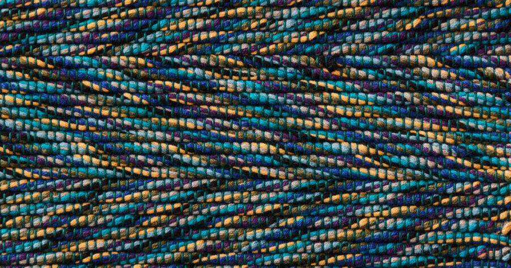 Twisted-Weft Rug