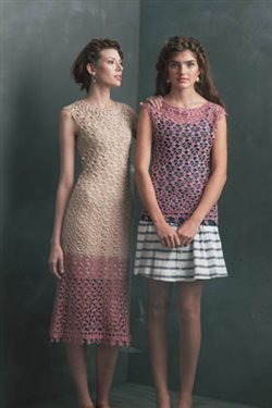 silk-and-linen crochet dress or tank